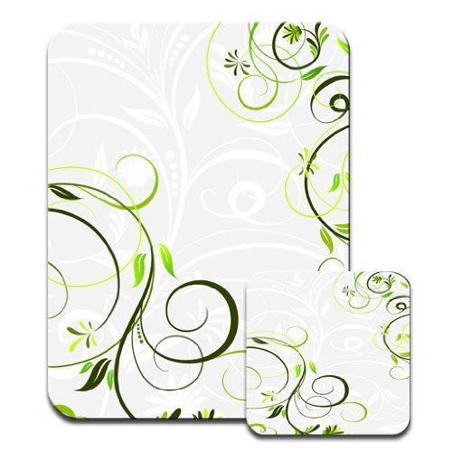 snuggle-wirbel-set-tapis-souris-et-sous-main-vert