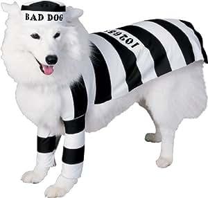 Prisoner Medium Dog Pet Costume