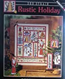 img - for Rustic Holiday, Cross Stitch book / textbook / text book