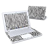Zebra Stripes Design Skin Decal Sticker for Apple MacBook 13 inch (Black or White Polycarbonate w/SEPARATE TRACKPAD)