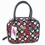 Betsey Johnson Weekender Cosmetic Make Up Bag Purse Handbag (Rose Floral)
