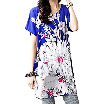 ZANZEA Women Boho Hippie Off Shoulder Loose Blouse Tops Batwing Mini Dress