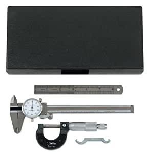 KD Tools 3753 3 Piece Caliper and Micrometer Set