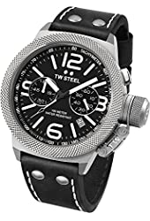TW Steel Mens Watch Chronograph Canteen CS4