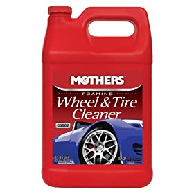 Mothers 05902-4 Foaming Wheel & Tire Cleaner - 1 Gallon, (Pack of 4)