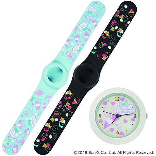 Cute watch set 32 ??[Rilakkuma Silicone Watch / belt two and one watch belt: RK ice cream + RK cup cake Watch: RK ice cream (Rilakkuma Ice Cream compare prices)