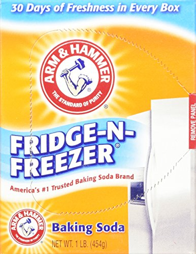 Arm & Hammer Fridge-N-Freezer Baking Soda, Odor Absorber 16 Oz (Pack of 6) 6 Lb Total (Baking Soda Fridge And Freezer compare prices)