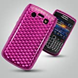 BLACKBERRY BOLD 9700 / 9780 PINK SHIMMER EFFECT GEL SKIN COVER CASE Accessories for mobile phones by Oliviasphones