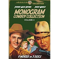 Monogram Cowboy Collection Volume 4