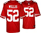 Patrick Willis San Francisco 49ers Autographed Nike Limited Red Jersey – Mounted Memories Certified – Autographed NFL Jerseys