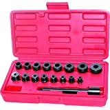 Generic 17pc Universal Clutch Aligning Tool Kit Car Pilot Bearing Set Alignment