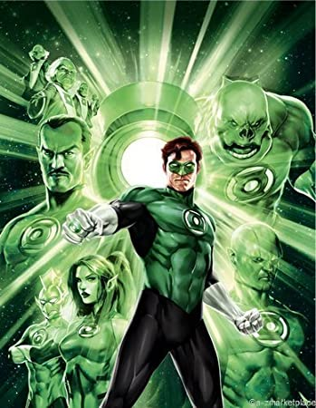 Green Lantern Mini Poster 11X17in Master Print