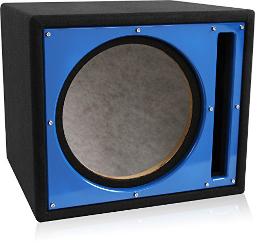 Belva 12 inch car subwoofer box sealed and ported 3 4 inch for L ported box dimensions