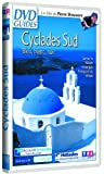 Cyclades-Sud,-bleu,-blanc,-noir-:-Santorin,-Naxos,-Amorgos,-Folegandros,-Sifnos