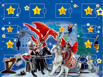 playmobil adventskalender reiterhof drachenland und. Black Bedroom Furniture Sets. Home Design Ideas