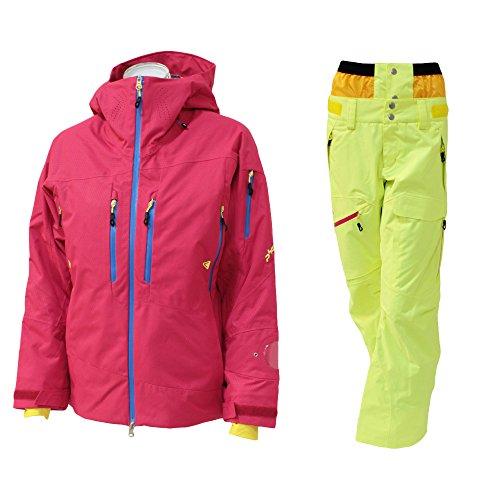 PHENIX(フェニックス)【PA582OT50/PA582OB50】レディース スキーウェア スプレーインサレーション ウーマンズ ジャケット パンツ 上下セットMA×FYE L
