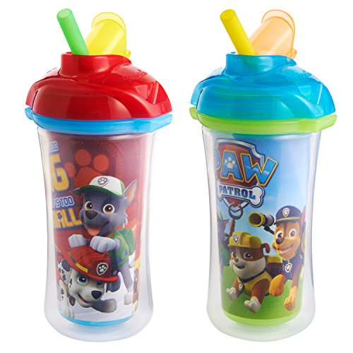 Munchkin Paw Patrol Click Lock Insulated Straw Cup,2 Pack (Sippy Cup Set compare prices)