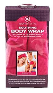 Aroma Home - AHBWG1-0002 - Bandeau Relaxant - Boîte Cadeau - Pink