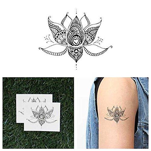 tatouage fleur lotus. Black Bedroom Furniture Sets. Home Design Ideas