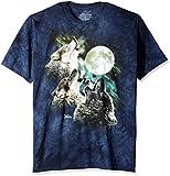 The Mountain Three Wolf Moon Short Sleeve T-Shirt