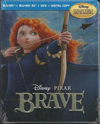Brave (Five-Disc Blu-ray Viva Metal Box: Blu-ray 3D / Blu-ray / DVD + Digital Copy)