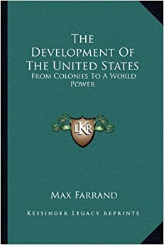 devoplement of the united states within Studies in american political development state and local economic development policy in the united states the war within.