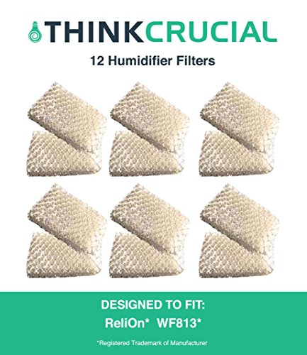 12-Pack ReliOn WF813 Humidifier Wicking Filters