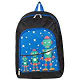 Travel Kids Gadget Play Backpack Fits Disney Portable DVD Players (Robot Design)