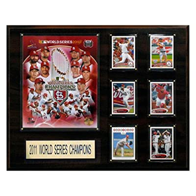 MLB 16 x 20 in. St. Louis Cardinals 2011 World Series 16 x 20 in. Champions Plaque