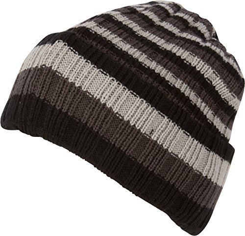 Sakkas-Nixon-Unisex-Ribbed-Stripe-Beanie-Cap