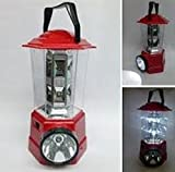 SahiBUY MH-9988 Led Rechargeable Hurricane Lamp Red