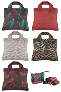 Omnisax Savanna Reusable Shopping Bags 5-pack
