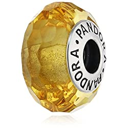 Pandora 791629 Fascinating Ochre Charm