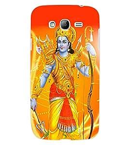 ColourCraft Lord Rama Design Back Case Cover for SAMSUNG GALAXY GRAND I9082