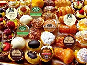 K-Cup Flavored Sampler Pack, 40 Count by Crazy Cups
