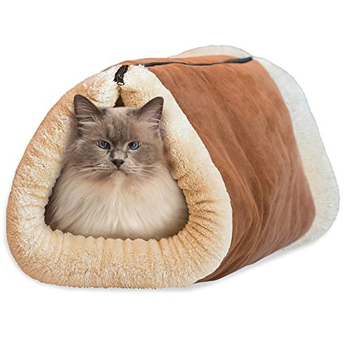 SF Net Trading 2 in 1 Tubo Cat Bed Dog Pet Mat Accessori Gatto Mat e letto morbido Inverno Caldo