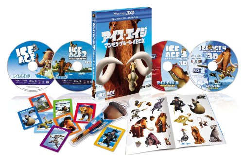 【Amazon.co.jp限定】アイス・エイジ マンモス・ブルーレイBOX(ク~ルな宝物付)(4枚組)(初回生産限定) [Blu-ray]