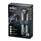 Braun-Bartschneider-BT5090-Barttrimmer-Bartrasierer-zur-Bartpflege-mit-Ladestation-silber