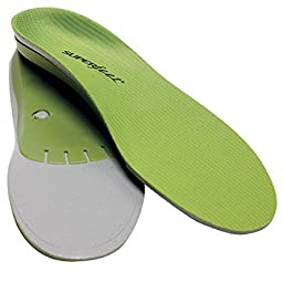 Superfeet Green Insoles - Medium to High Arch - Men\'s Green D / 7.5 - 9