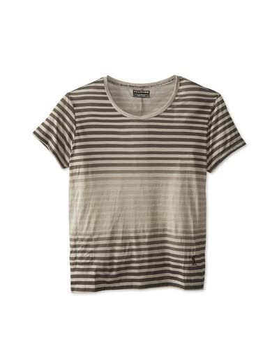Religion Men's Gradient Stripe Short Sleeve Tee