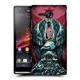 Head Case Tribute Metal Chevron Snap-on Back Case Cover For Sony Xperia Sp C5303