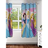 "Disney- Athom Trendz- Princess- Kids- Window Curtain- Single Piece- 48""x58"" (4ftx5ft)"