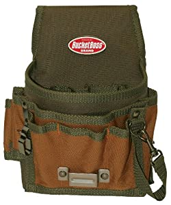 Bucket Boss 54140 Tool Pouch with Flap Fit