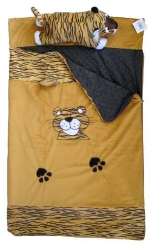 More image Imperial MW1218 Toddler Nap Mat - Sleeping Bag with Plush Pillow Lion