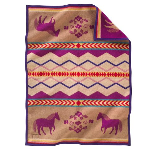 Pendleton Baby Blanket: Muchacho Painted Pony - 1