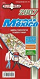Carreteras de Mexico (Mexico Tourist Map by Guia Roji) (Spanish and English Edition)