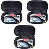 3 PRS Southern Seas Mens Womens Folding Reading & Travel +2.00 Glasses w Case 14 Strengths Available