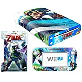 Vanknight Vinyl Decal Skin Sticker Zelda for Wii U Console and Controller