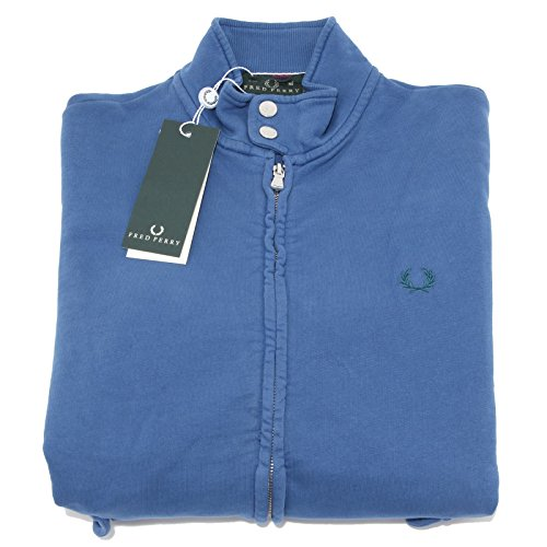 6527M felpa uomo blu FRED PERRY felpe men sweatshirts [M]