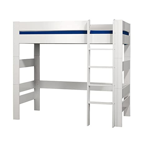 Furniture To Go Kids World Kids High Sleeper, 176 x 206 x 95 cm, White